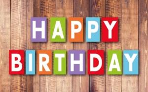 Glückwünsche und weiteres zum Geburtstag