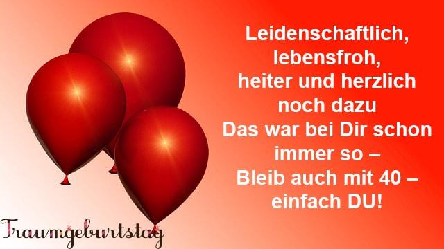 Lll Gedichte Zum 40 Geburtstag Lustige Gedichte Für Männer Und