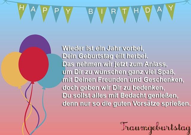Lll Tolle Geburtstagsgedichte Die Schönsten Verse Für Erwachsene